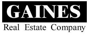 Gaines Real Estate Home Page